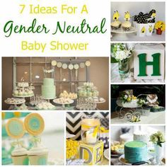 7 Ideas For A Gender Neutral Baby Shower | Party Ideas And Planning | CraftGossip.com
