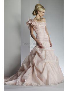 pink wedding dress, pink wedding gown, pink bridal dress, pink bridal gown