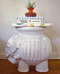 ceramic elephant ceramic elephant, elephant table, ceram eleph