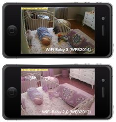 WiFi Baby 3:  Peace of Mind.  Refined.  Video and Audio of your child on iPhone, iPad or Android.  Anywhere.  Learn More. http://store.wifibaby.net/wifi-baby-3/