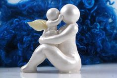 Child loss sculpture mother and child by TheMidnightOrange, $36.00 for Mother's Day