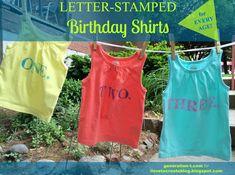 birthday shirts, cut shirt