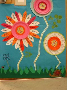 flower classroom theme