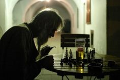 chess game, seventh seal, challeng, knight