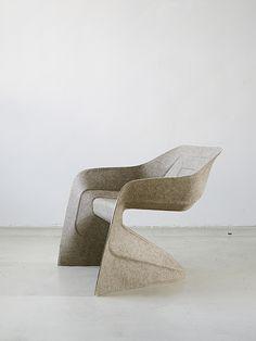 Hemp Chair (2011), by German designer Werner Aisslinger