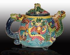 tea timeteapot, dragon teapot