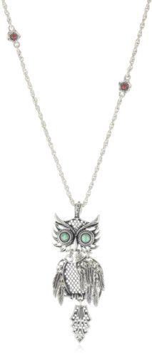 "Lucky Brand ""Basics"" Shaky Owl Necklace"