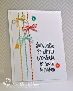 From Joyful Creations with Kim.  Stamp by The Alley Way Stamps.