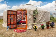 Yurt » I have been dreaming of owning a yurt for many, many years. I still think it would be great!