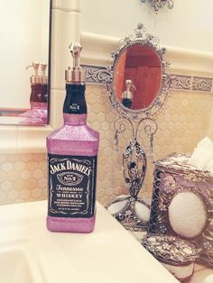 Hey, I found this really awesome Etsy listing at https://www.etsy.com/listing/168512140/jack-daniels-soap-dispenserthe-perfect