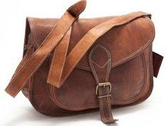 Hippie  Women Purse Leather Handbag Messenger by handsmadeitforu, $29.00