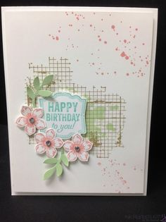 Thursday, April 24, 2014 Off the Grid Birthday by funone - Cards and Paper Crafts at Splitcoaststampers
