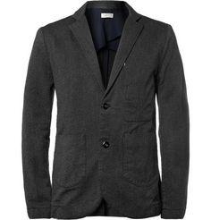 Folk Slim-Fit Flecked Cotton Suit Jacket | MR PORTER