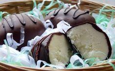 Easter - Homemade Chocolate Cream Filled Eggs