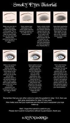 Smoky Eyes Tutorial