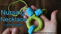 Katie Cooks and Crafts: Nursing Necklace Crochet Pattern and Tutorial