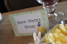 Our Happily Ever Afters: snow whites apples