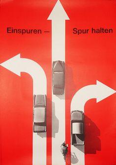 Einspuren – Spur Halten  Design: Hans Hartmann