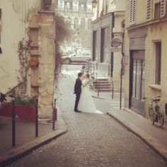 We couldn't help but fall even more in love with Paris during our Fall 2014 collection photo shoots. #davidsbridal #fall2014