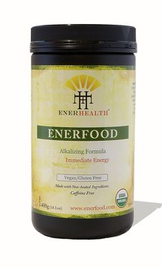 EnerFood Organic Green Superfood Drink Powder | EnerHealth