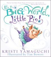 Gold-medalist Kristi Yamaguchi tells us more about Poppy, the adorable, persistent, dreaming-big pig. Poppy has a new adventure in store for her: the World Games ice-skating championship in Paris! She meets a snowboarding Panda, a Maltese who skies, and two fellow skaters, a Crane and a Kangaroo. Poppy begins to realize that although these animals look different, act different, and are from different places, they are all the same at heart. They all smile in the same language!