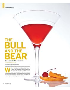 Bourbon cocktail recipe - Virtuoso Life Magazine