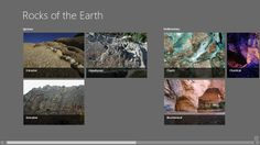 Rocks of the Earth // This app gives information on different classifications of rocks, such as Igneous, Metamorphic and Sedimentary. It also shows information on the rock cycle and the different major layers of the earth, such as the core, the mantle and crust. It's a great app for anyone interested in Geology.