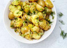 German Potato Salad with Dill Recipe - Bon Appétit