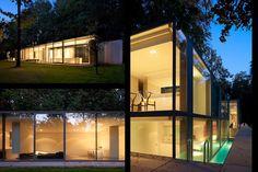 glass home//bruges, belgium