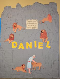 Daniel Bulletin Board with free printables