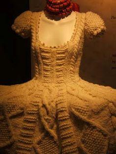 #Knit wedding dress?  Skirt Knit  #2dayslook #SkirtKnit #fashion #new  www.2dayslook.nl