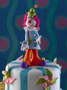 Palhaço (www.djalmareinaldo.com.br) by Djalmma Reinalldo (Cake Designer), via Flickr