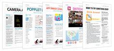 APP CHALLENGE TASK CARDS http://www.techchef4u.com/ipad/marvelous-monday-a-motley-of-app-challenges-4-all/