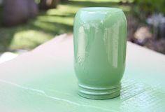 Please Note: DIY: Mason Jar Vases