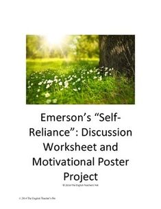 how i write an introduction for emerson self reliance essay pdf ralph waldo emerson compensation brainy thoughts