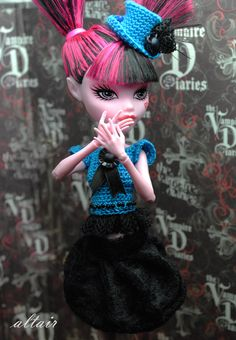 a lot of monster high doll cloth patterns