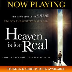 #Heavenisforrealmovie is NOW PLAYING in Theaters! Films like @heavenisforrealmovie show that communities of faith are being heard! Don't wait in lines! Get Tix & Group Sales TODAY! >> http://bit.ly/HIFRtix