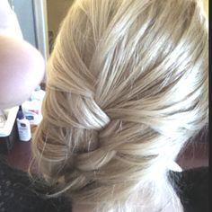 Loose French braid