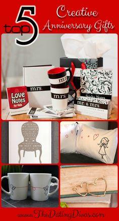 Creative anniversary gifts