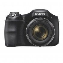 Sony DSCH200/B Black 20.1 MP 26X Optical Zoom Digital Camera