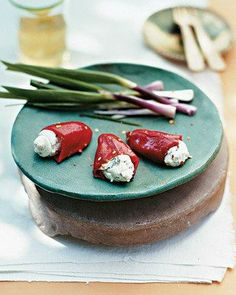 Stuffed Piquillo Peppers with Goat Cheese Recipe
