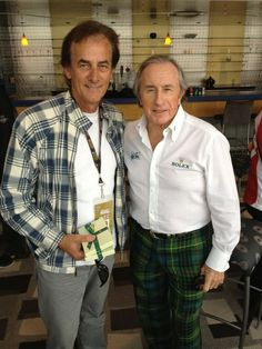 Legends Fever: Arie Luyendyk & Sir Jackie Stewart