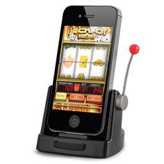 The iPhone Slot Machine - Hammacher Schlemmer