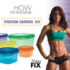 The key to success with the 21 Day Fix is to think INSIDE the box -- specifically the 7 color-coded containers http://soreyfitness.com/fitness/21-day-fix-autumn-calabrese/