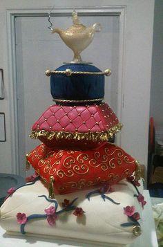 Aladdin Pillow cake