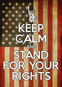 STAND FOR YOUR RIGHTS