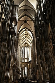 Gothic architecture - Cologne Cathedral, Germany