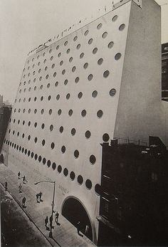 1966 National Maritime Building West Side Manhattan NYC vintage NEW YORK CITY PHOTO by Christian Montone, via Flickr