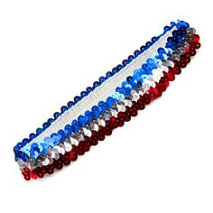 Pull your hair back in the hot summer heat with a cute #sequence headband! #USA