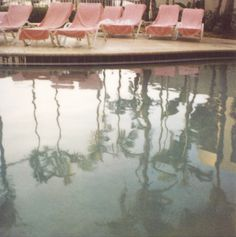 . water, outlet, photographs, photograph summer, art photograph, lounge chairs, pink, bock photographi, pools